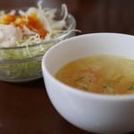 ノマキチ - サラダとスープ