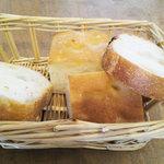 Maiido Due B - ランチのパン