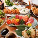 フェローズ - 【2時間飲み放題】みずみずしい素材の味が活きる『和食コース』4,000円