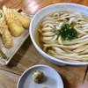 蓮 - 料理写真:かけ(中)+天ぷら3点盛り