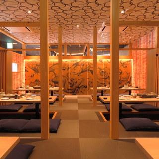 【個室】大人数での宴会~接待、会食などにもご利用可能な個室席