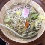 103565670 - 塩野菜ラーメン/野菜大盛り
