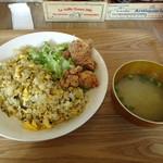 パタタ食堂 - 高菜ライスプレート