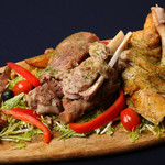 Premium Chickenman Sabroso - 肉プレート