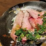 炉地バル 八兵衛 - ほろ酔いセット(ローストビーフ)