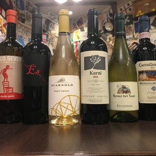 ワイン好きのソムリエが選ぶ、数多くのイタリアワイン