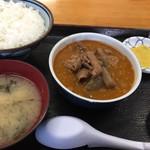 103572200 - モツ定食 2019.03