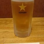 とんかつ専門店 とんくん - ドリンク写真:生ビール(中) 650円