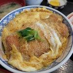若奴食堂 - 料理写真:煮カツ丼(850円)