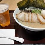 イップウドウ ラーメン エクスプレス - SPとんこつ&生ビール~☆