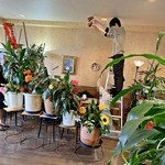 喫茶ツヅキ - カフェオレの天井落とし