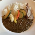 フジヤマ キッチン - 無添加ベーコンと彩り野菜のカレーライス