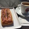 サンマルクカフェ - 料理写真:珈琲Mと粗挽きウインナーパンで486円