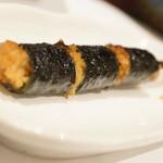 炭火串割烹 ほの華 - 納豆巻き