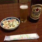 串処ぼんど - マカサラと大瓶は赤星