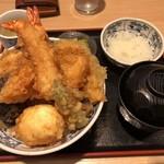 天丼久助 - 上天丼 1274円