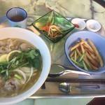 ホアンキエム カフェ - 瀬戸内レモンとオリーブ豚のフォーセット