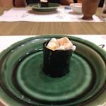"""やす多"""" - 河豚の白子の寿司"""