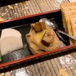 焼鳥和食 鳥屋 寿 中目黒 - フォアグラと白ればのパテ