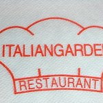 ITALIAN GARDEN - papernapkin