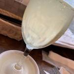 ビーフキッチンスタンド - こぼれワイン(白)