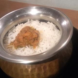 インド料理 マルジョウ - 料理写真:フキノトウチキンのビリヤニ