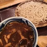 蕎麦とお酒 そばちょこ - 黒カレーせいろ(1,100円)