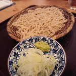 蕎麦とお酒 そばちょこ - せいろ(650円)