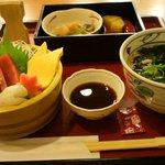 お好み食堂 蘭 - ちらし寿司定食