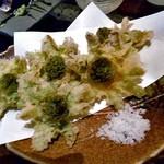 旬菜 籐や - 新潟産 ふきのとう天ぷら