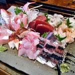 旬菜 籐や - 刺身盛り合わせ(4〜6人前)
