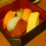 和食さと - プレミアムコースお寿司
