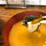 くし処 虎ノ坊 - 味噌汁