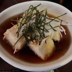 ぶんぶく庵 - 揚げ出汁豆腐550円