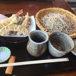 照久庵 - 料理写真:天ざる