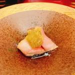 奴寿司 - 鰤の漬け・大根おろしポン酢