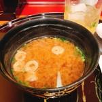 奴寿司 - お味噌汁