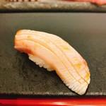 奴寿司 - 鰤・ガーリック塩