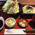 旬彩創和ぜんてい - 天丼とミニ蕎麦セット