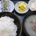 盛 - 貝汁定食
