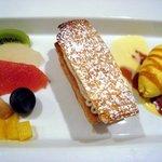 ヴァン・キャトル - デザート・栗とマロンクリームのミルフィーユ