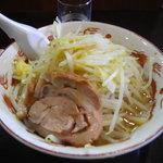 麺家 大須賀 - ともラーメン+やさいにんにく750円