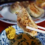 新ちゃん - 「ぎょうざ」は「酢醤油&辛子」で食べる