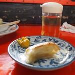 新ちゃん - ご主人に勧められた「ぎょうざ」の「お酢&辛子Ver」