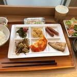 スーパーホテル弘前 - 料理写真:朝食(31.3)