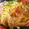 カープうどん - 料理写真:肉うどん 550円(税込)