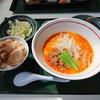 食堂みね屋 - 料理写真:2019年3月 担々麺セット(900円)