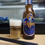 立呑処 新多聞酒蔵 - タイガービール