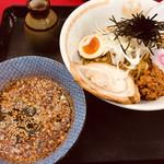 東雲亭 - ババつけ麺(750円)辛さレベル10(300円増し)