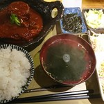 食いしんぼ ままや - 白身魚と大根の唐辛子煮御膳